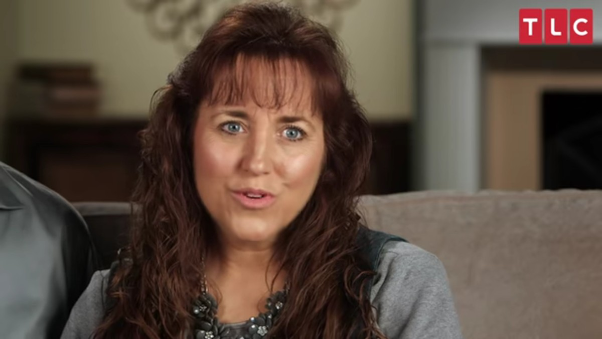 Michelle Duggar in a Counting On confessional.