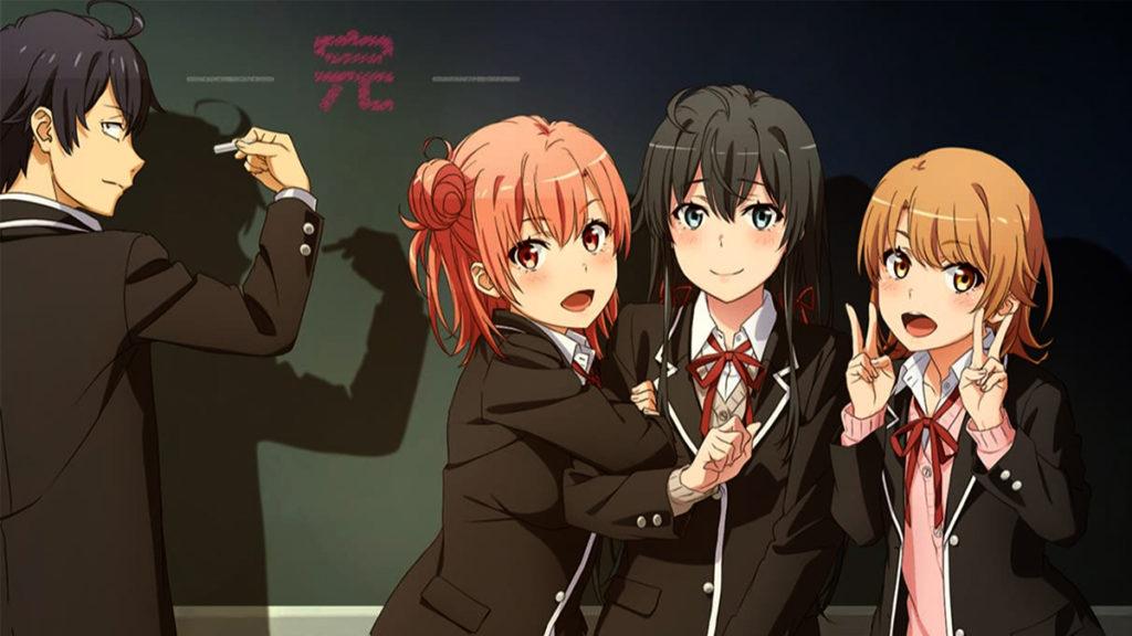 My Teen Romantic Comedy SNAFU Season 3 anime artwork