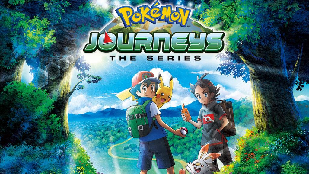 Pokemon Journeys: The Series cover art