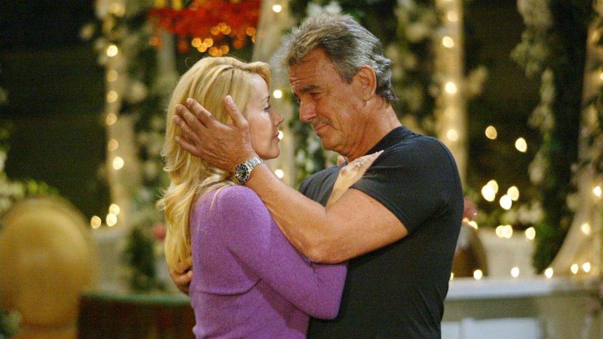 The Young and the Restless relive Victor and Nikki's romance.