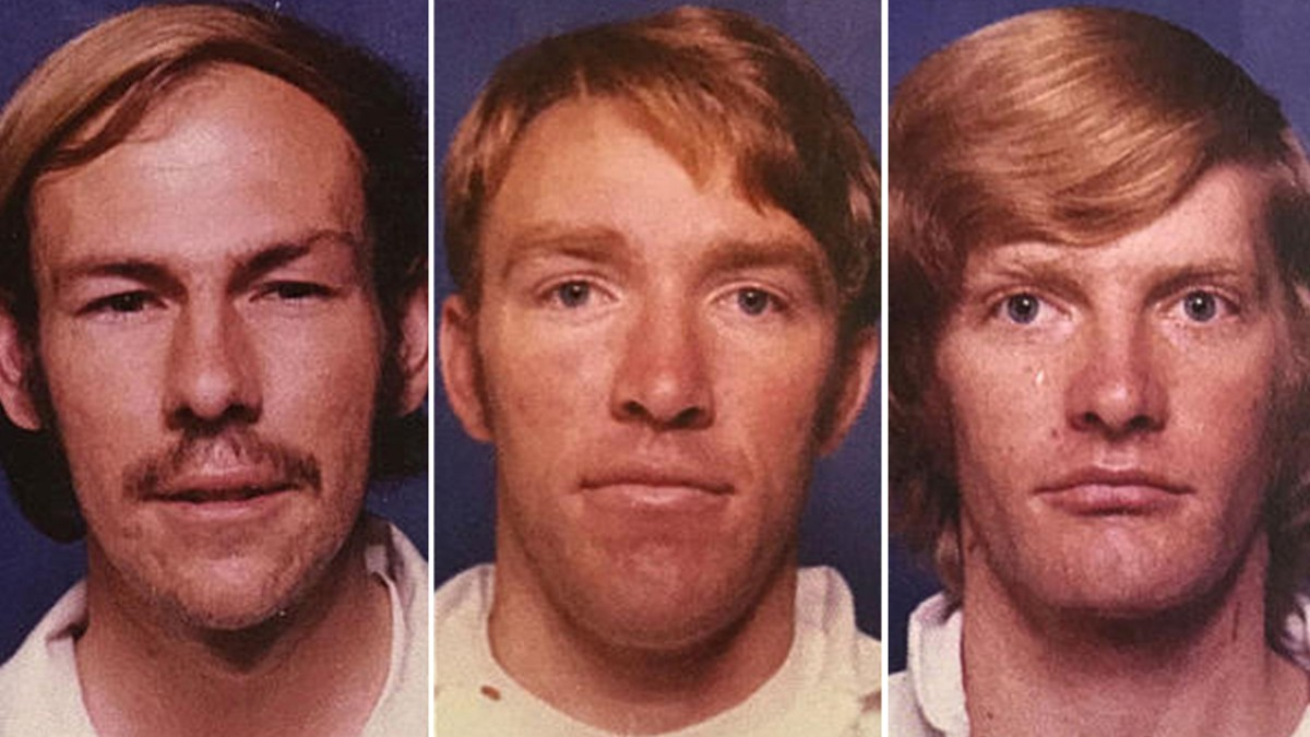 Mugshots of Frederick Woods, and the Schoenfeld brothers