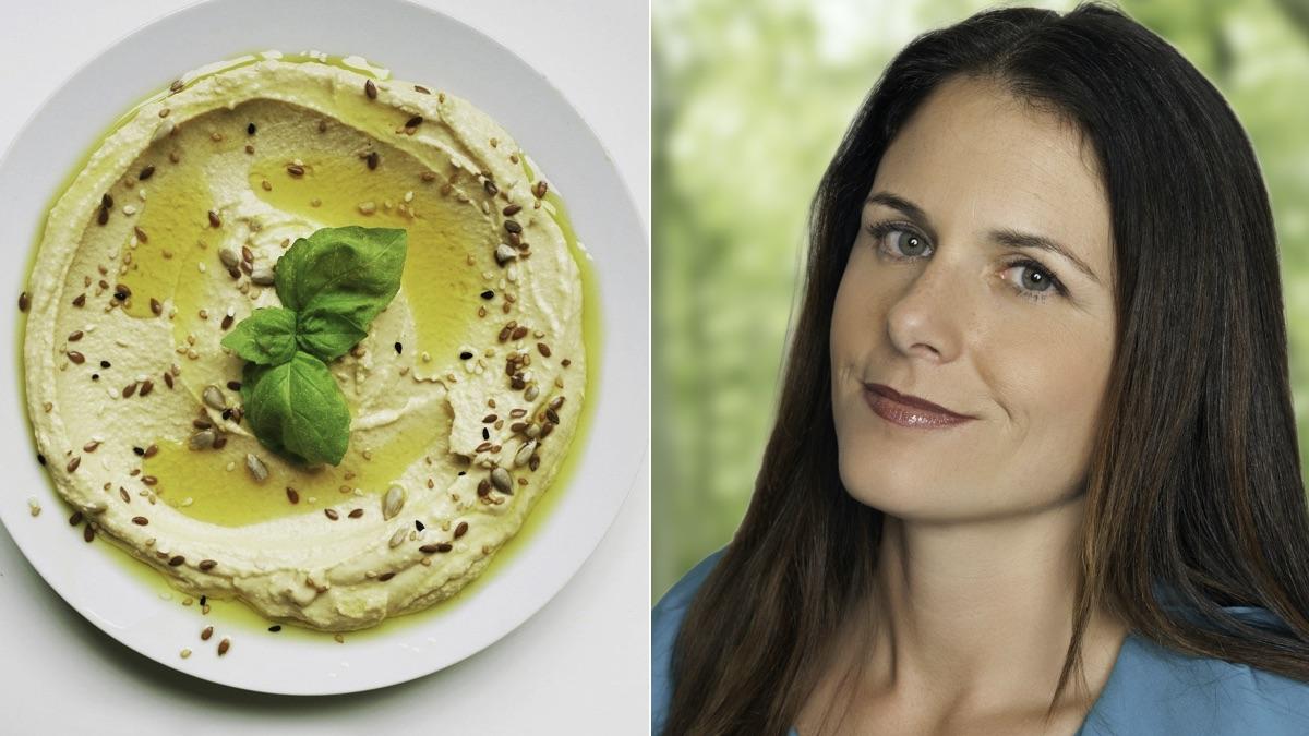 Hummus and Dr. Nicole Avena