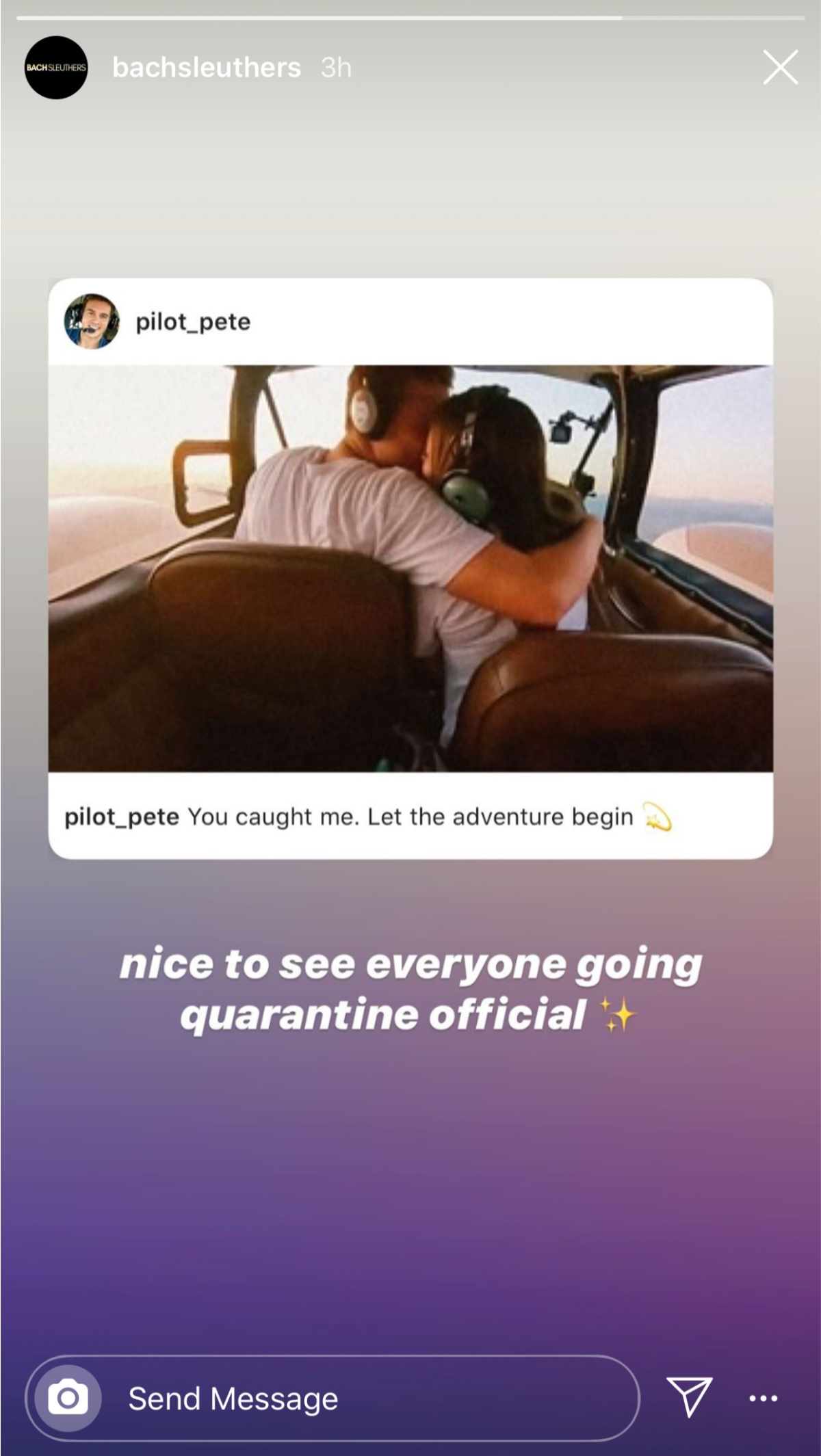 quarantine Peter and Kelley