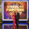 Vanna White and Pat Sajak on Wheel of Fortune