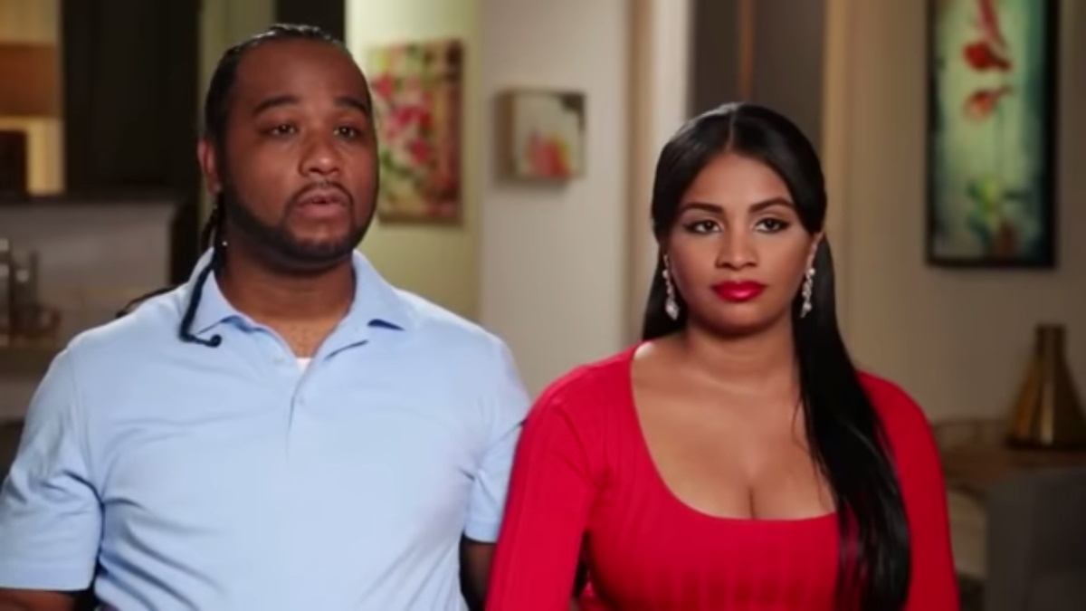 Robert and Anny during an interview for 90 Day Fiance: What Now?