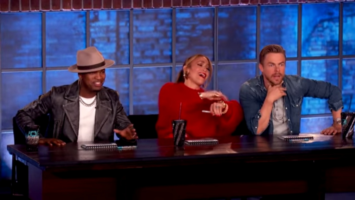 The judges on World of Dance react to a performance. Pic Credit: NBC.
