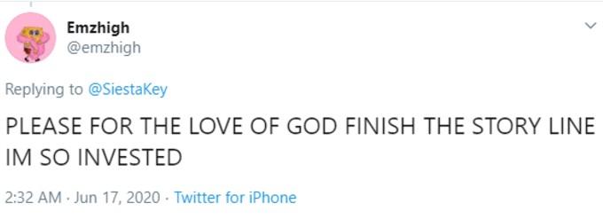 Tweet about Alex Kompos firing