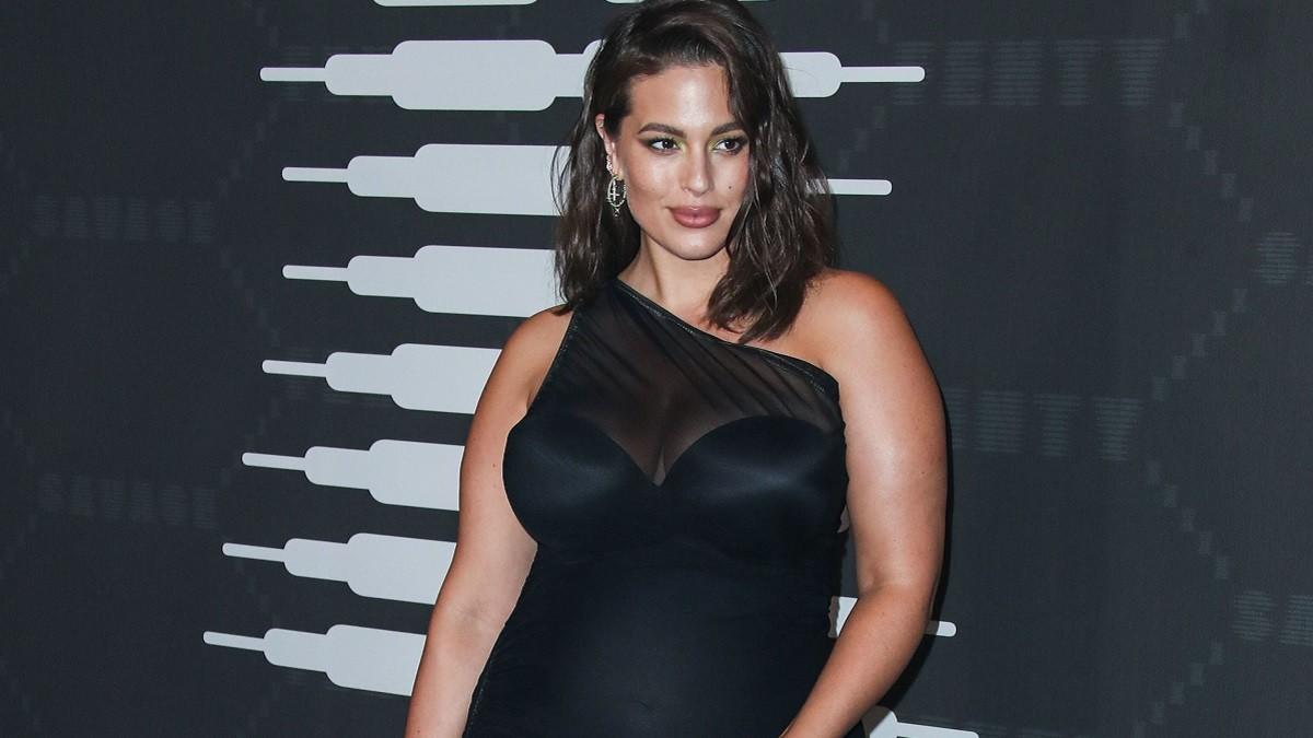 Plus-size model Ashley Graham