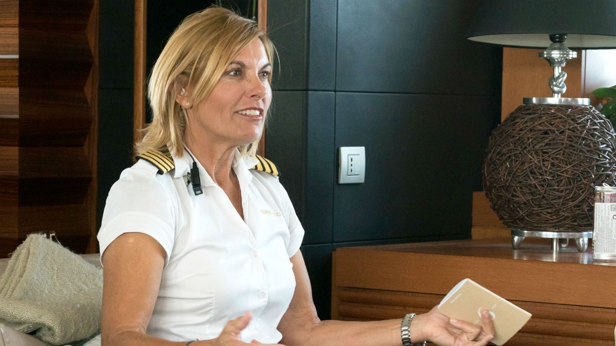 Captain Sandy Yawn discusses Below Deck Med firings