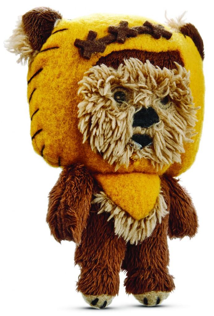 Ewok dog toy
