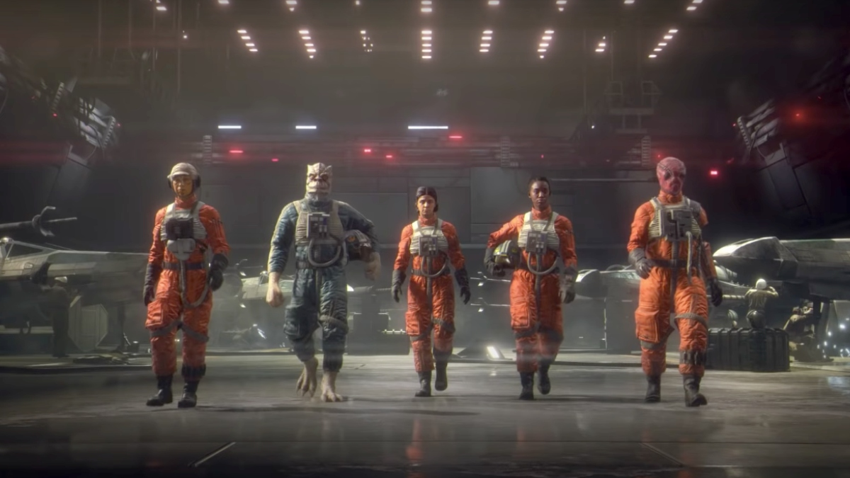EA releases reveal trailer for Star Wars: Squadrons