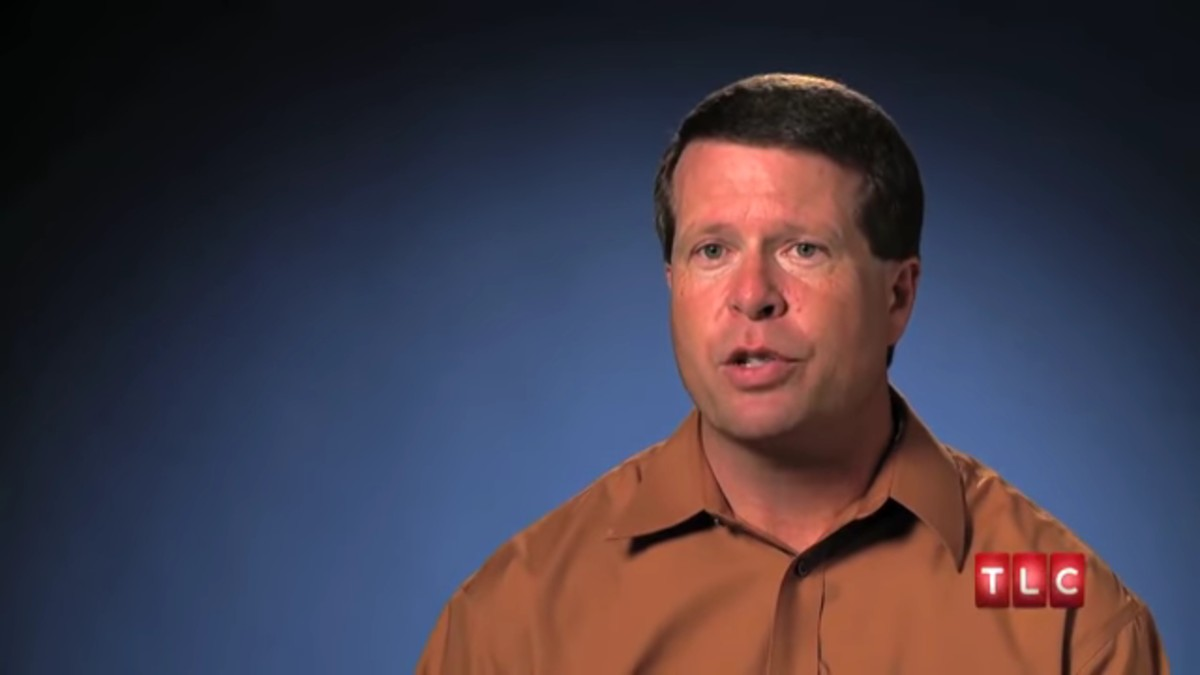 Jim Bob Duggar in a 19 Kids and Counting confessional.