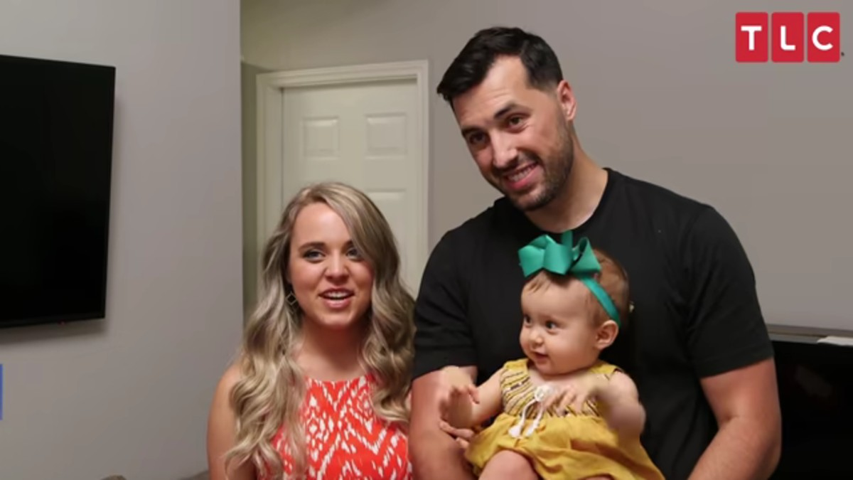 Jinger Duggar with her family on Counting On.