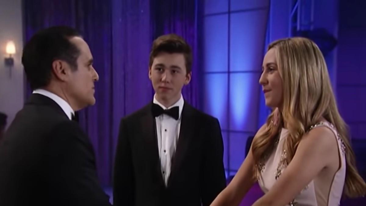 Sonny, Oscar, and Joss at the 2018 Nurses Ball.