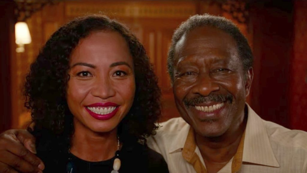 Sandy Huong Pham as Michon and Clarke Peters as Otis in Da 5 Bloods