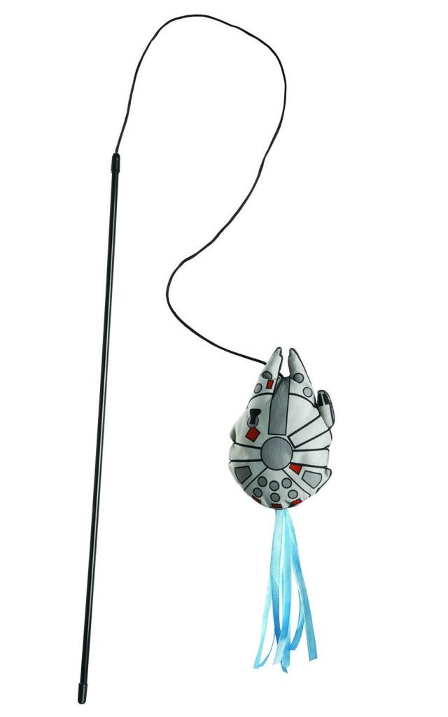 Star Wars cat stick toy