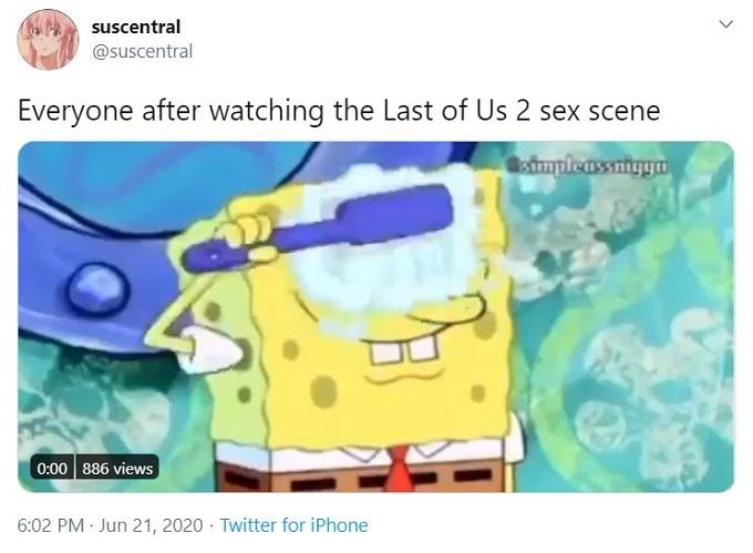 The Last of Us II Twitter reaction