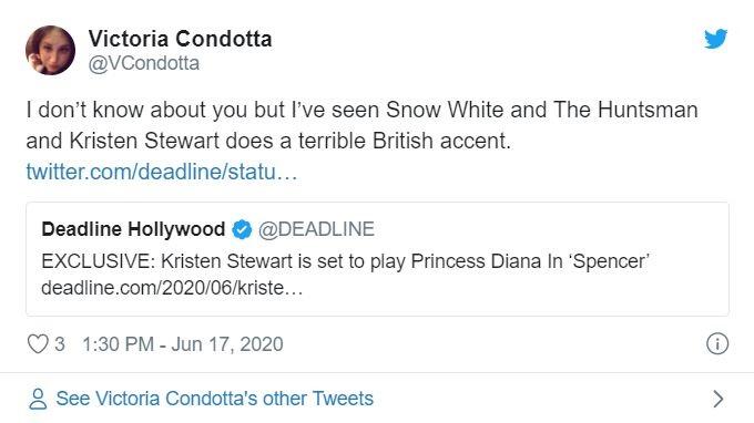 Victoria Condotta on Twitter