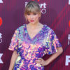 singer taylor swift at iheart radio awards