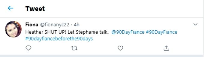 Heather gets backlash on social media