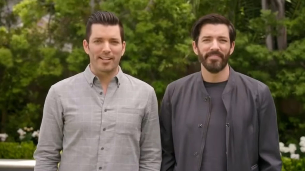 The Property The Property Brothers, Jonathan and Drew, in an episode of their new show.