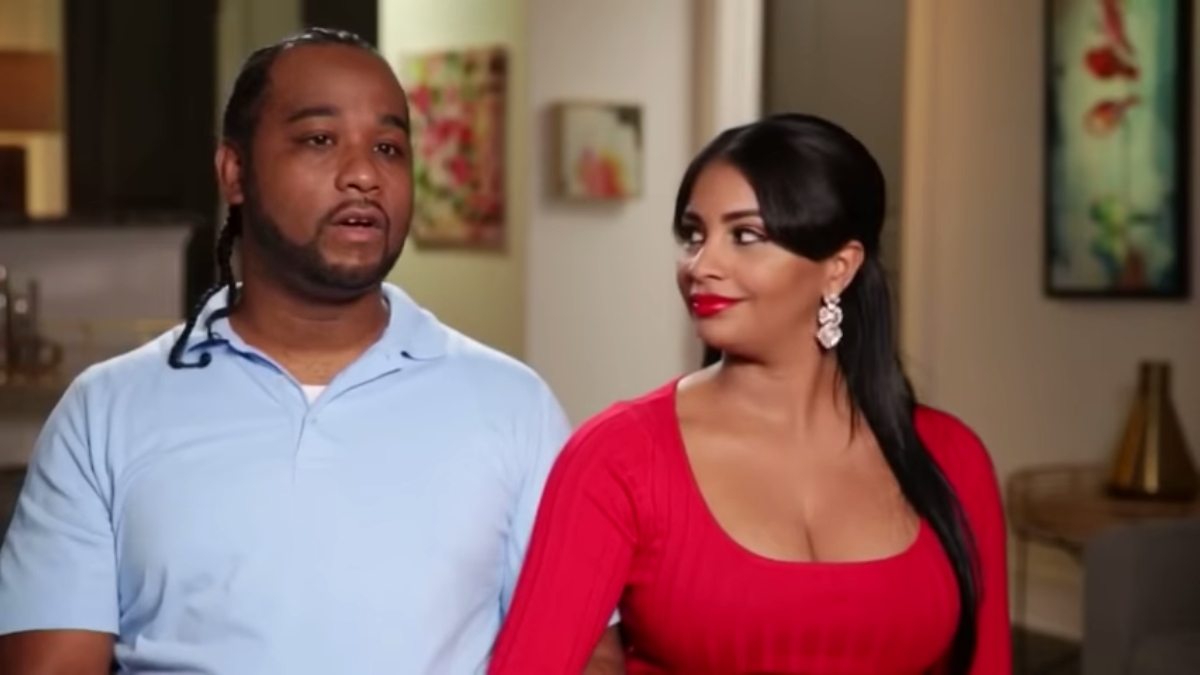 Robert and Anny on 90 Day Fiance. Pic credit: TLC