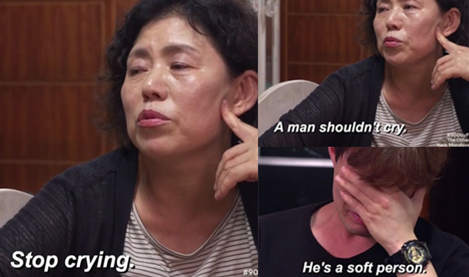 90 day fiance jihoon's mom tells him to stop crying