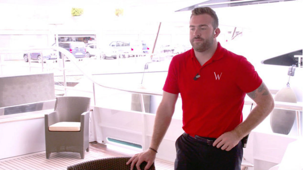 Alex Radcliffe spills how Below Deck Med helped his love life.