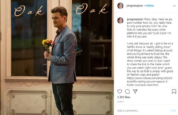 A post on Ben Samuel's Instagram