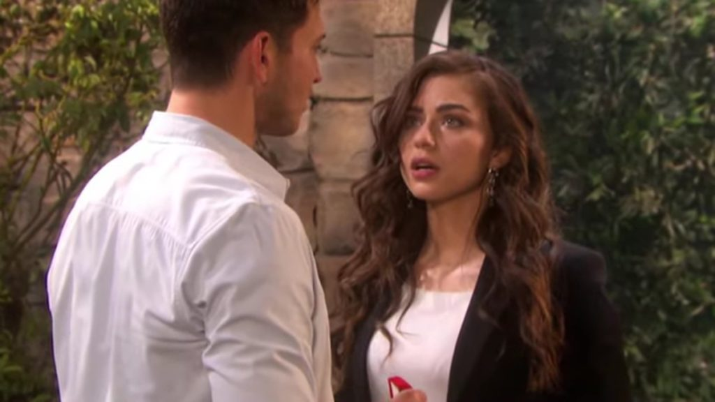 Robert Scott Wilson and Victoria Konefal as Ben and Ciara on Days of our Lives.