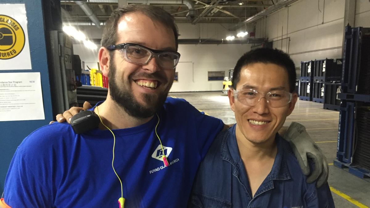 Curt McDivitt and Jingming Zhong from American Factory