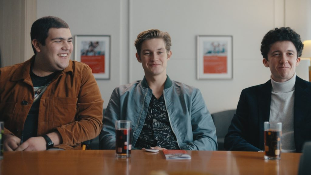 Danilo Kamber. Damian Hardung, and Maximilian Mundt in How to Sell Drugs Online (Fast) Season 2