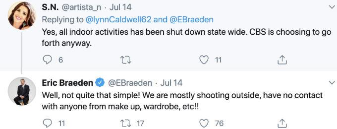 Eric Braeden answers fan question.