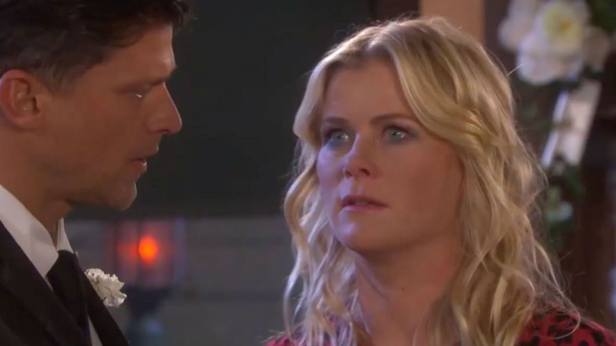 Days of our Lives spoilers tease Sami interrupts Nicole and Eric's wedding.