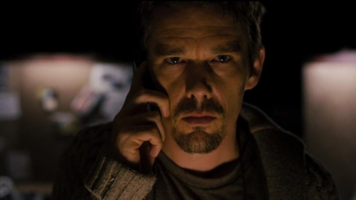 Ethan Hawke in Sinister.