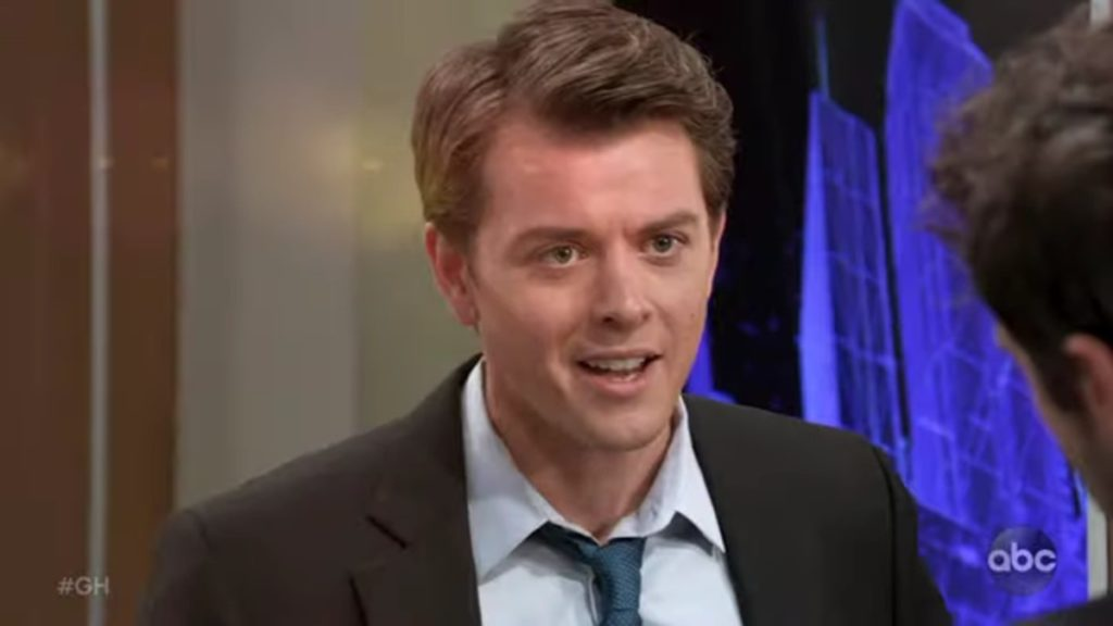 Chad Duell as Michael on General Hospital.