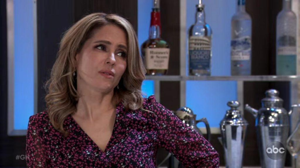 Lisa LoCicero as Olivia on General Hospital.