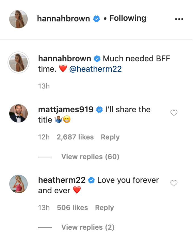 Hannah Brown IG