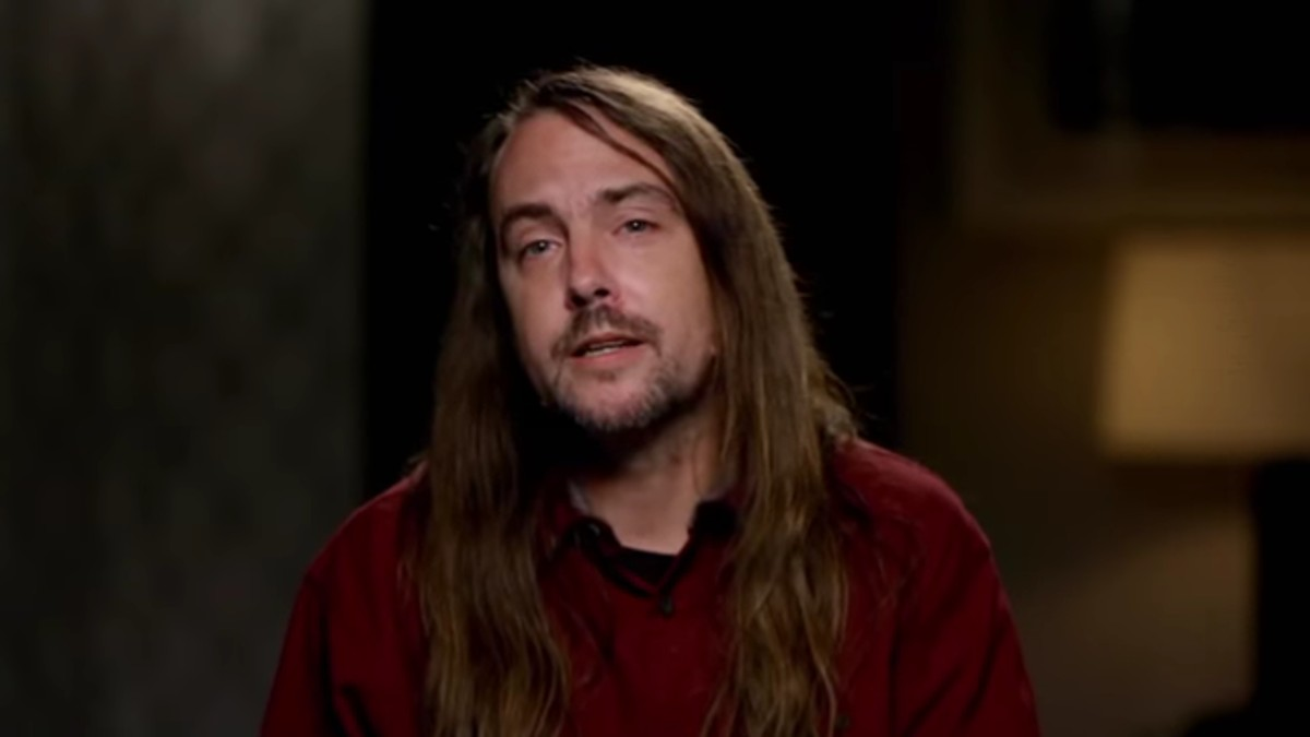 John during a Love After Lockup confessional.