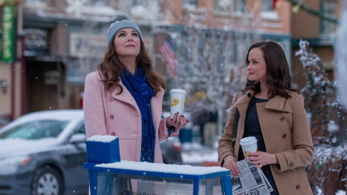 Lauren Graham and Alexis Bledel from Gilmore Girls: A Year in the Life.