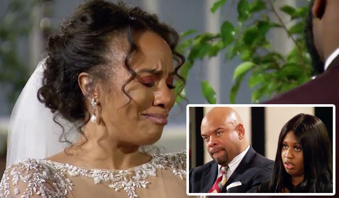 MAFS Season 11 Karen cries at the alter when she weds Miles while Miles's family looks mad