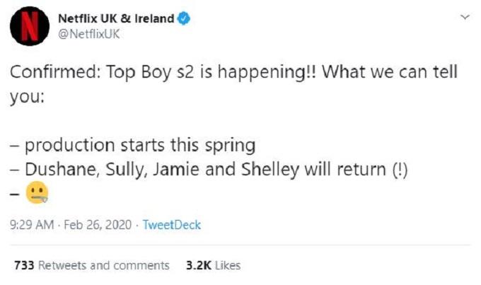 Top Boy Season 4 on Netflix