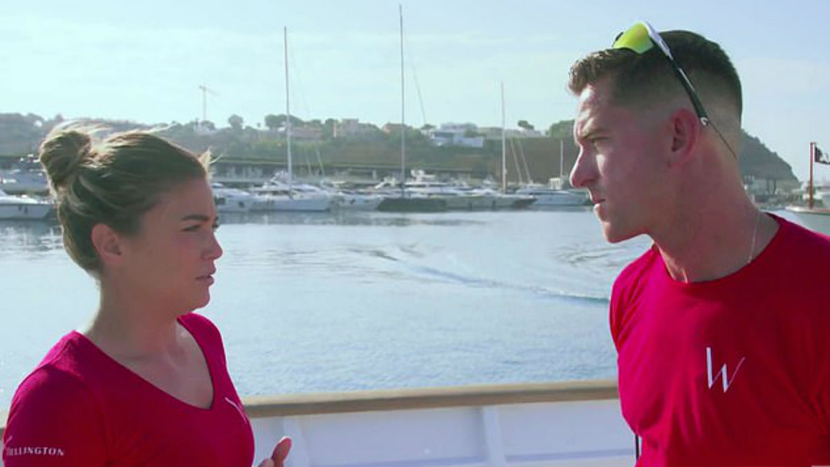 Malia White is sharing her thoughts on fired Below Deck Med star Peter Hunziker