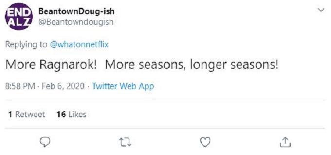 Ragnarok Twitter
