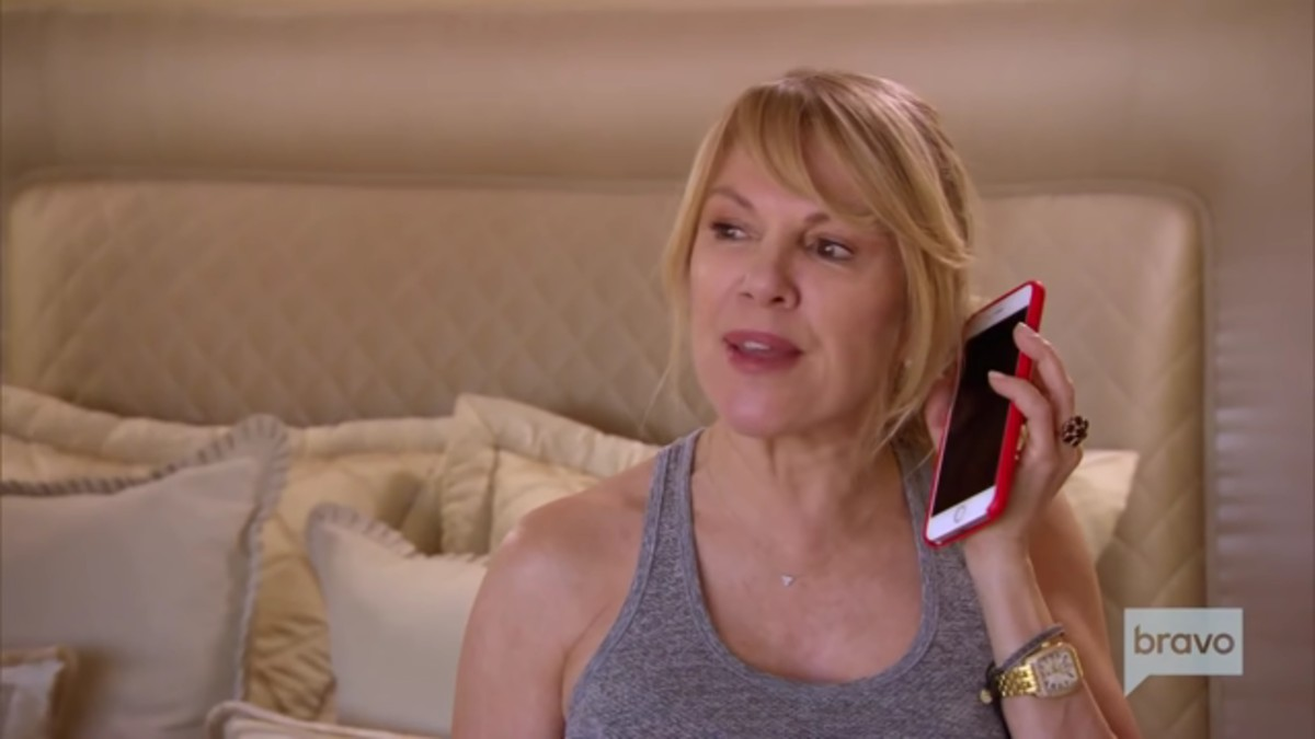 Ramona Singer on The Real Housewives of New York.