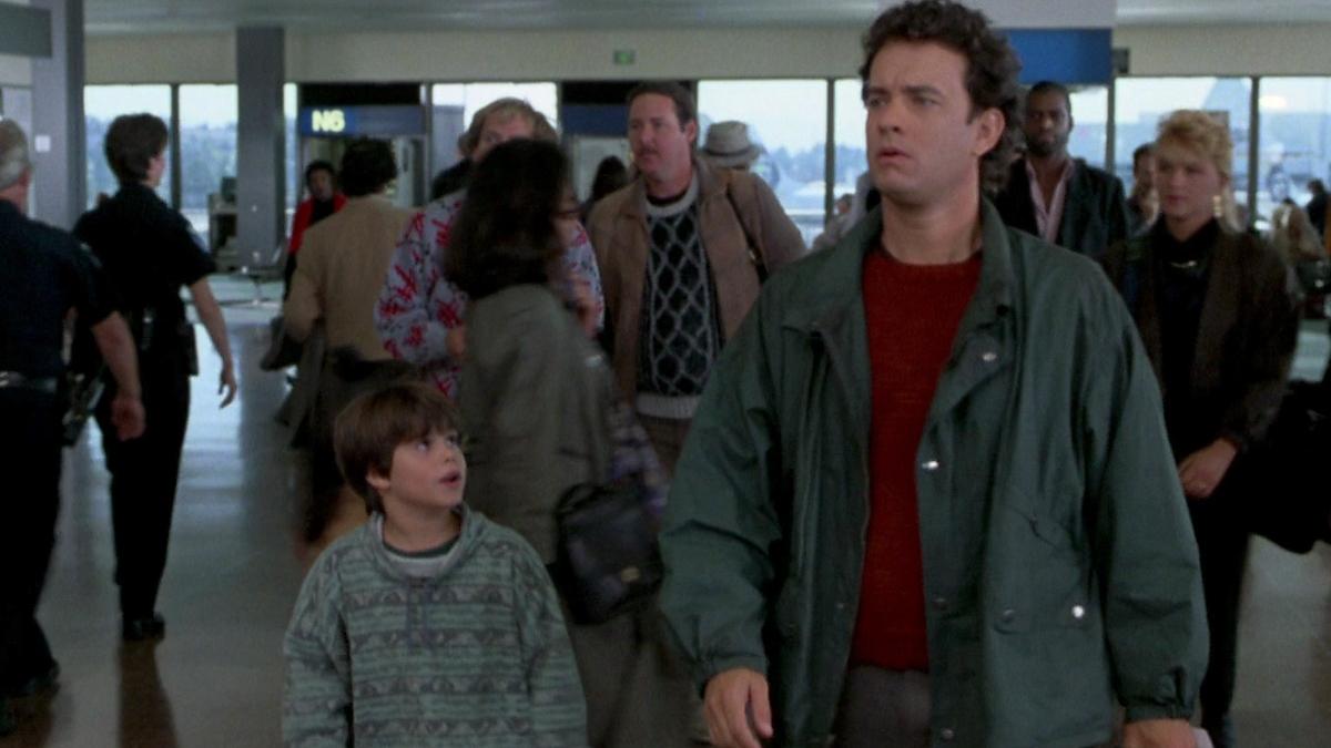 Ross Malinger and Tom Hanks in Sleepless in Seattle.