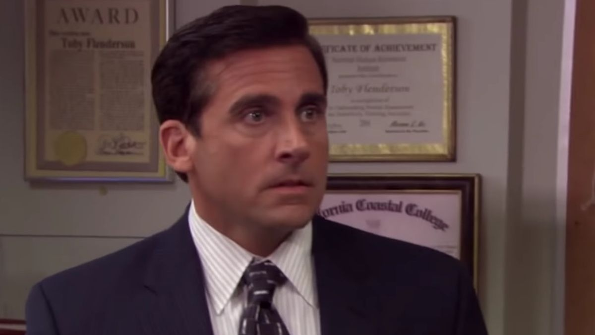 Steve Carell in The Office