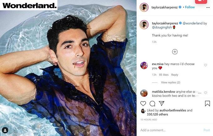 Taylor Zakhar-Perez on Instagram
