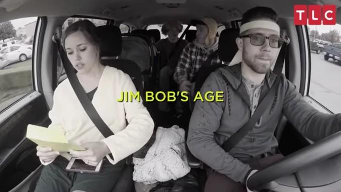 Jessa Duggar googling Jim Bob's age.