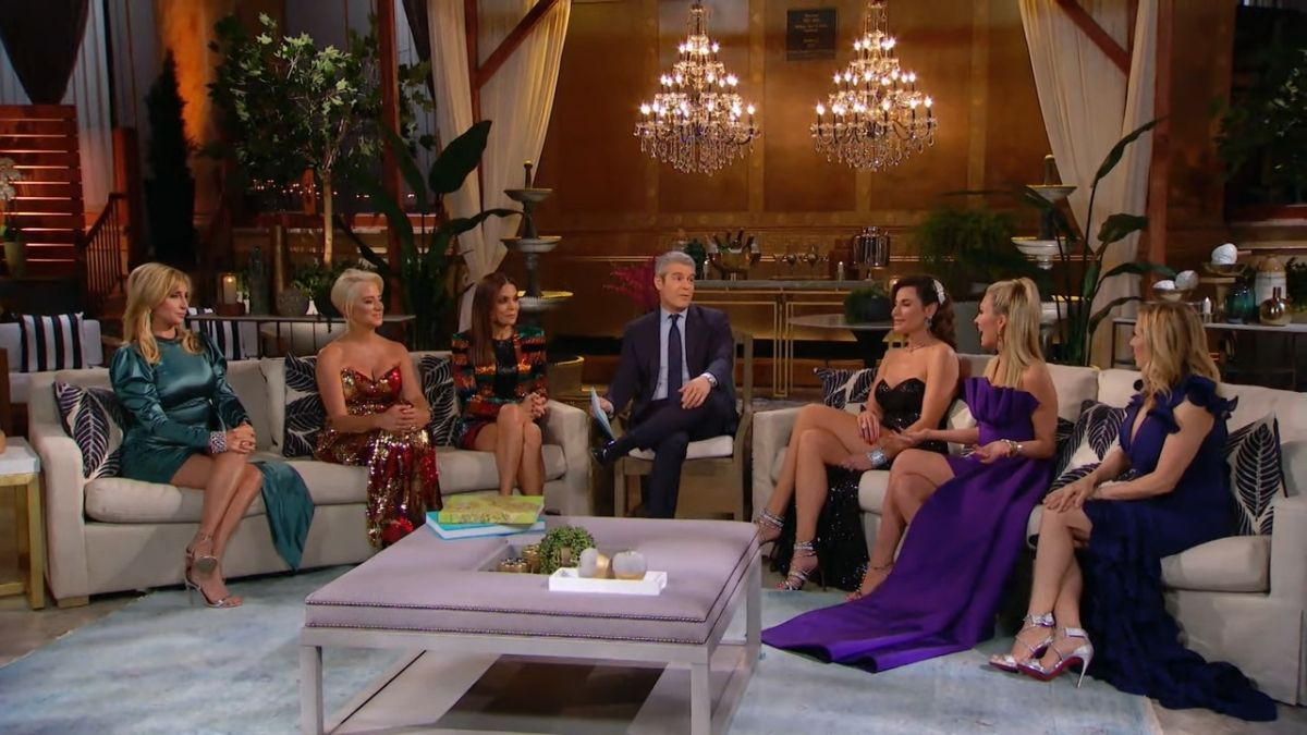 The New York housewives will reunite in person